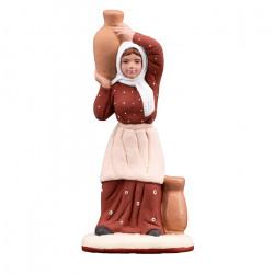 Santons . Femme aux cruches . Collection 7 cm . Nouveauté 2019 .