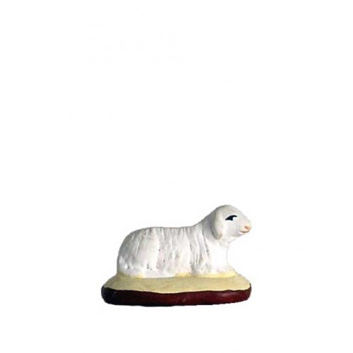 Santon Mouton couché Collection 5cm