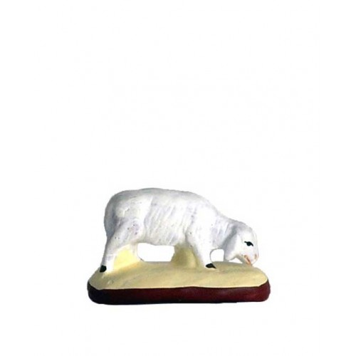 Santon Mouton qui broute Collection 5cm